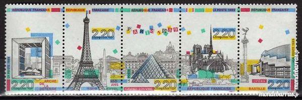 N° 2583A Panorama de Paris Timbres NEUF** 2 La Seyne-sur-Mer (83)