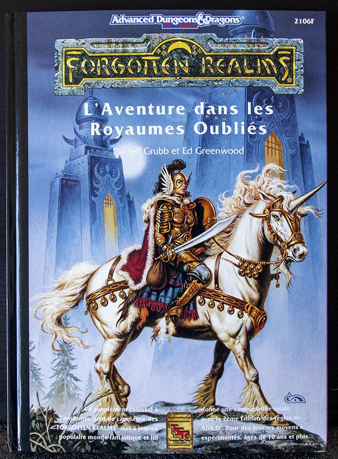 ADD 2ième Edition L'Aventure dans les Royaumes Oubliés 1994 100 Belgique (59)