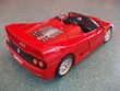 REF: 3352 FERRARI F50 CABRIOLET ROUGE 1995 Jeux / jouets