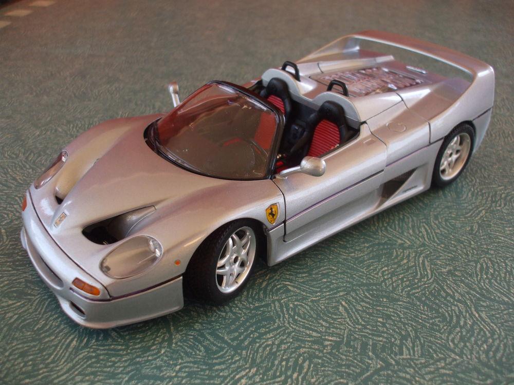 REF: 3372  FERRARI  F50 CABRIOLET GRIS MÉTAL 1995 49 Ornaisons (11)