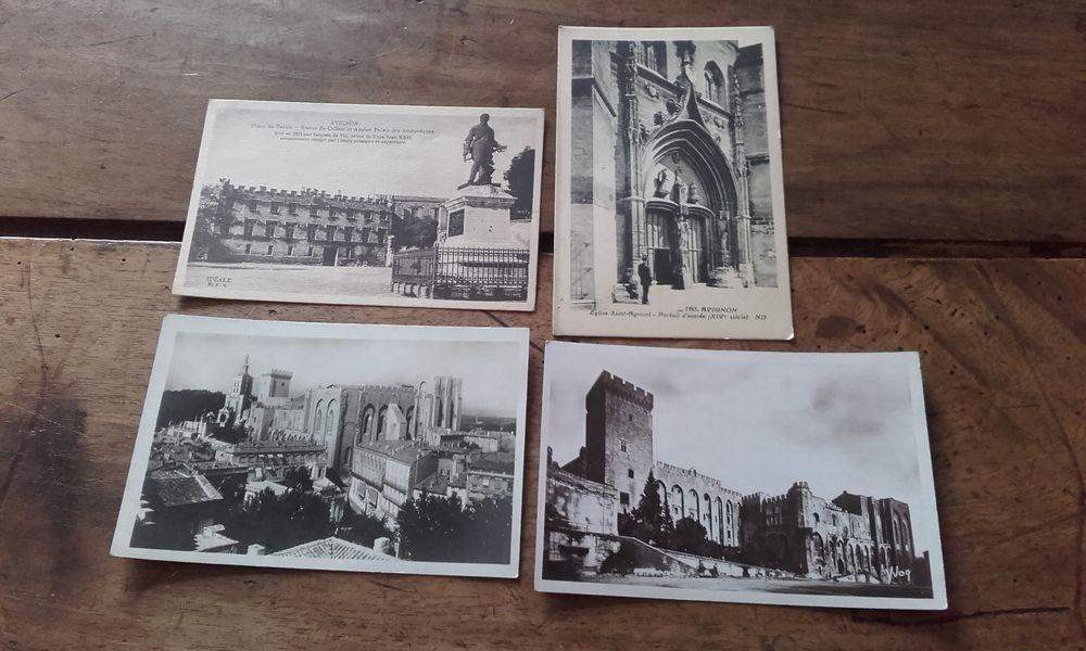 Lot de 4Cartes Postales Anciennes d'AVIGNON 6 Saint-Martin-de-la-Brasque (84)