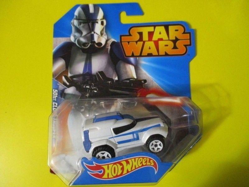 501st clone troopers voiture hot wheels mattel  star wars 8 Lognes (77)