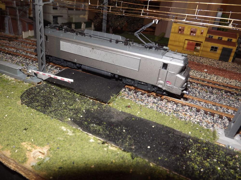 BB 522227 SNCF ROCO HO livrée fantôme  120 Carnoules (83)