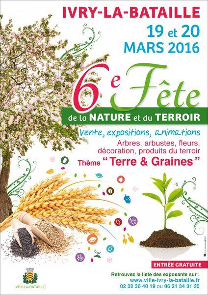 6ème FÊTE DE LA NATURE ET DU TERROIR 0 Ivry-la-Bataille (27)