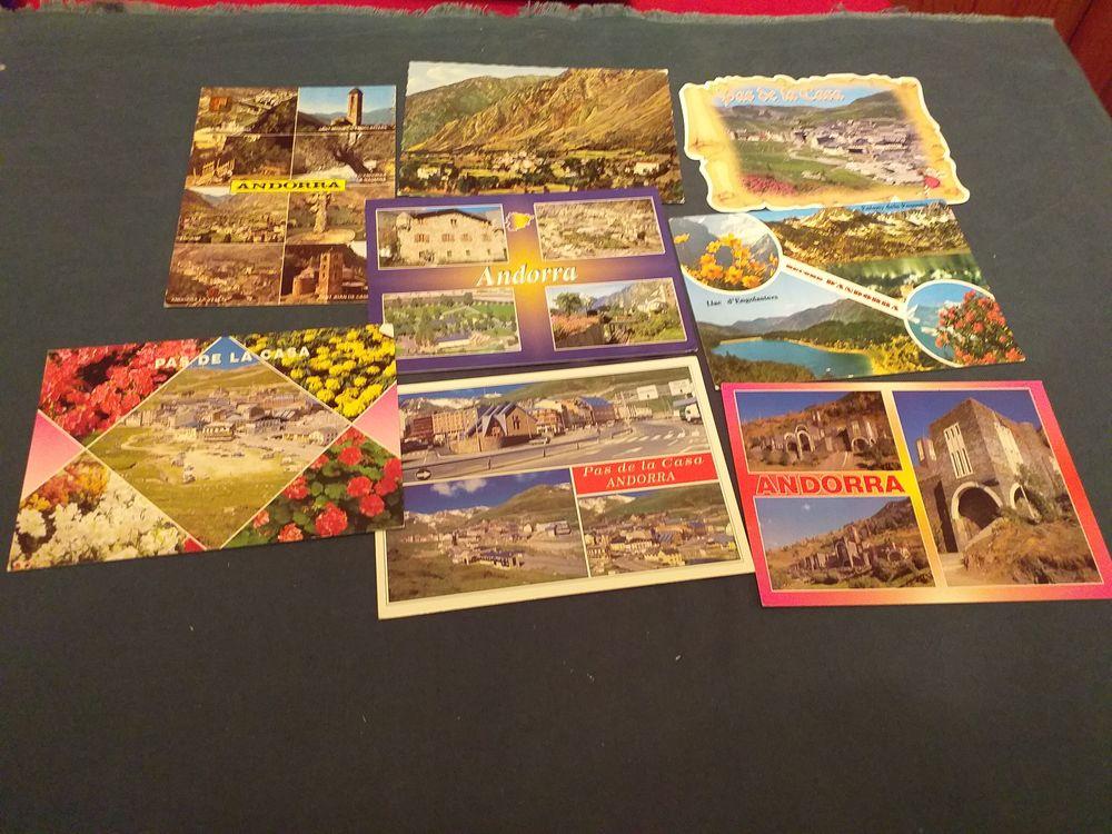 lot de 7cartes postales cpsm de L'Andorre  2 Tours (37)