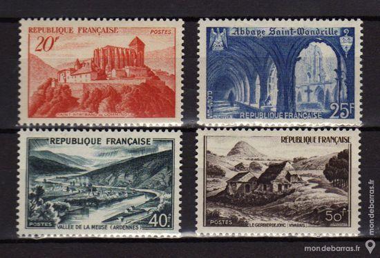 N° 841A à 843 Timbres France NEUFS** An 1949