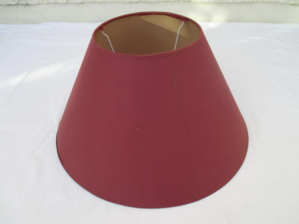 ABAT-JOUR CONIQUE, grande envergure, couleur bordeaux 5 Castelnau-de-Médoc (33)