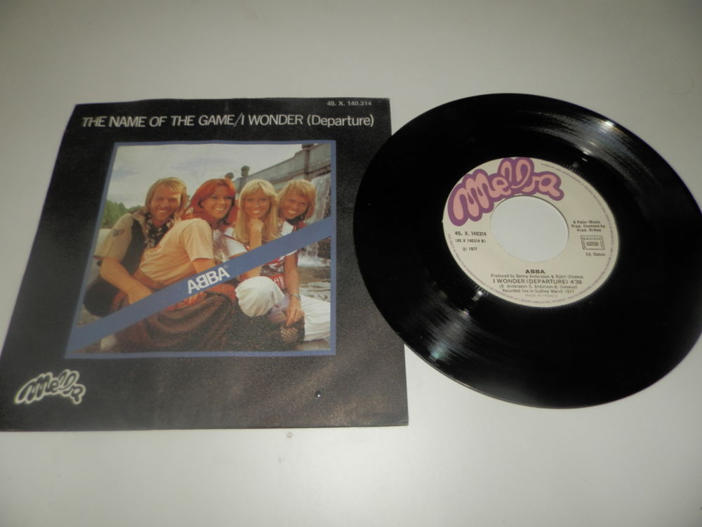 Abba - The name of the game/i wonder (departure) CD et vinyles