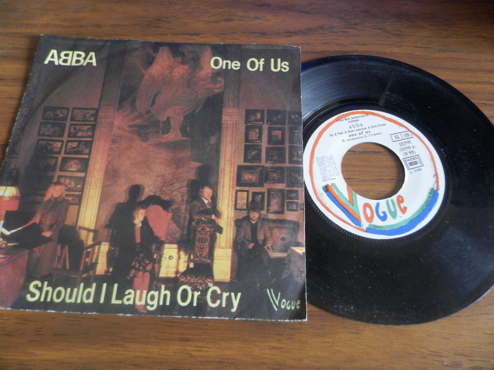 Abba - One of us/should i laugh or cry CD et vinyles