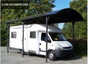 Abri camping-car en aluminium et polycarbonate 1800 Melun (77)