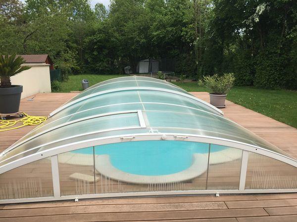 Achetez abri piscine vends occasion annonce vente for Abri piscine occasion