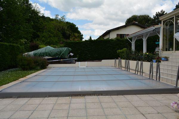 abri piscine Jardin