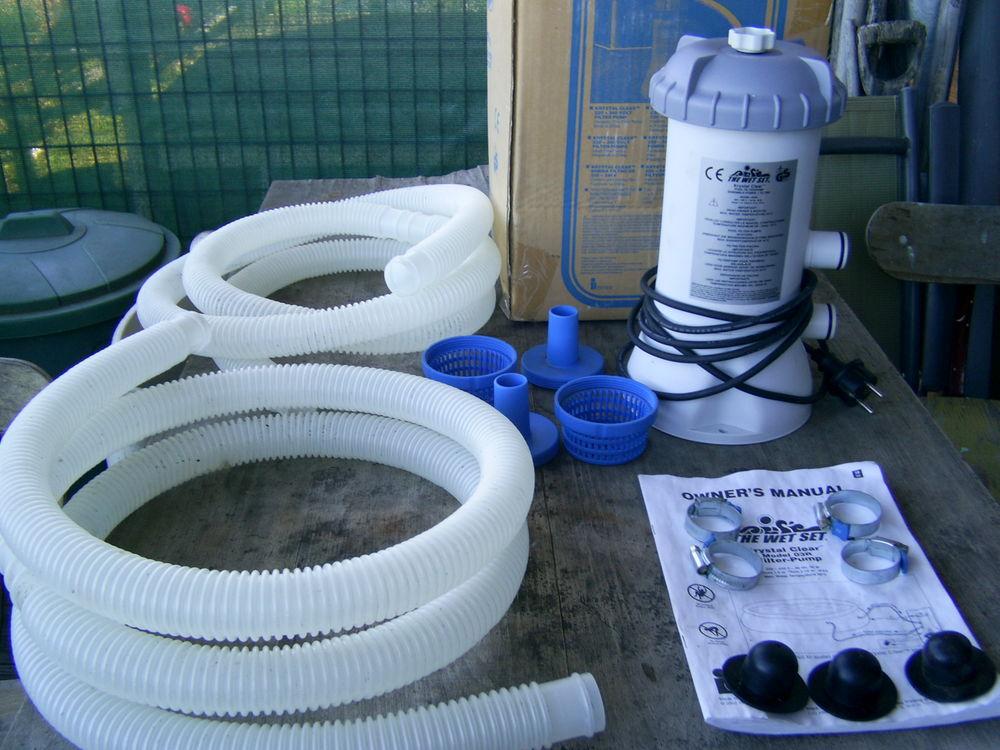 Piscines autoportantes occasion annonces achat et vente for Accessoire piscine sollies pont