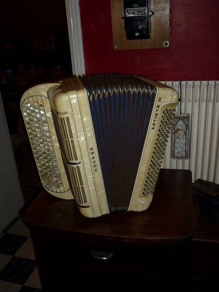 accordéon chromatique HOHNER  ARTISTE IV 550 Beuvry (62)