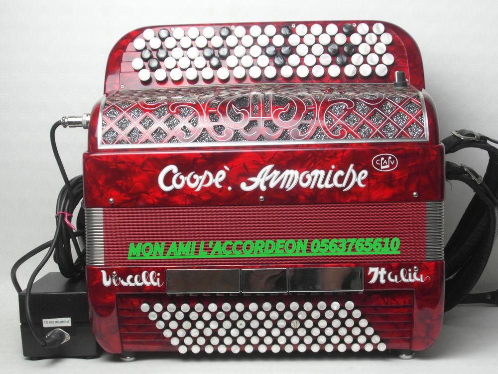 Accordéon COOPE ARMONICHE 3 VOIX MIDI ET MICRO SUPER ETAT 2750 Labastide-Gabausse (81)