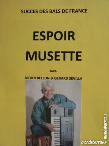 Accordéon: ESPOIR MUSETTE création Gérard SEVILLA 1 Clermont-Ferrand (63)