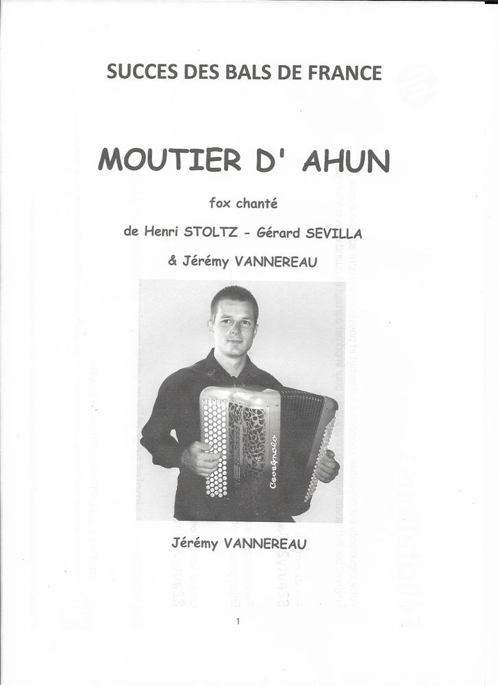 ACCORDEON: MOUTIER D' AHUN 2 Saint-Sylvestre-Pragoulin (63)