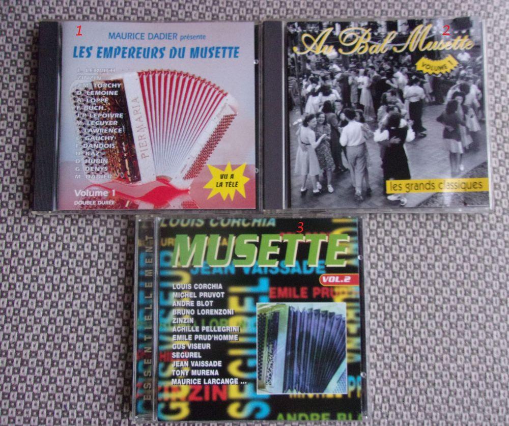 CD d'ACCORDEON MUSETTE GUINGUETTE CD et vinyles
