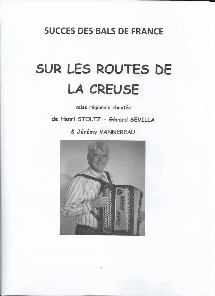 ACCORDEON: SUR LES ROUTES DE LA CREUSE 2 Saint-Sylvestre-Pragoulin (63)
