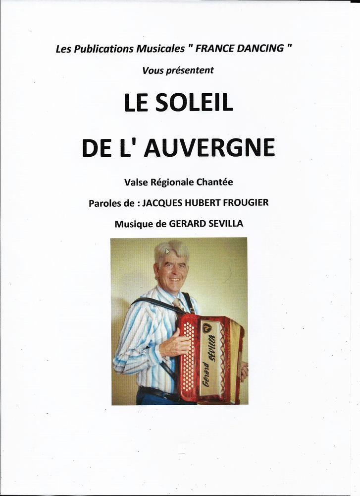 ACCORDEON: LE SOLEIL DE L' AUVERGNE 2 Saint-Sylvestre-Pragoulin (63)