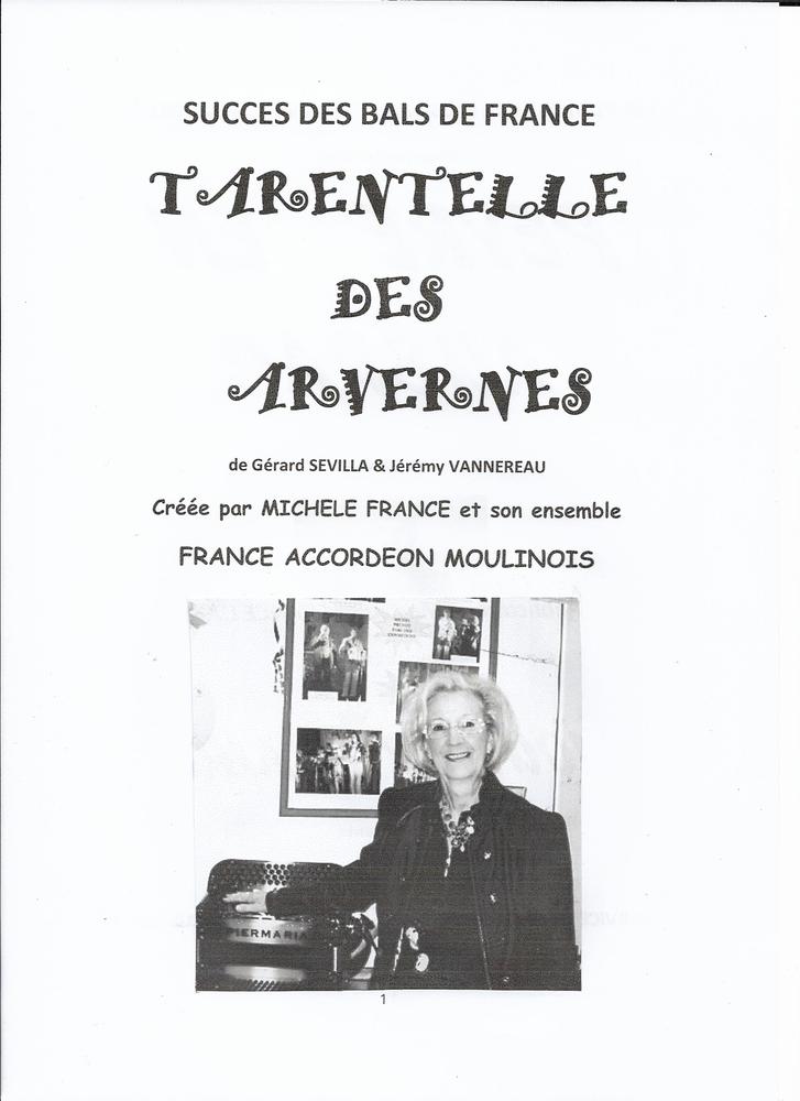 ACCORDEON: TARENTELLE DES ARVERNES 2 Saint-Sylvestre-Pragoulin (63)