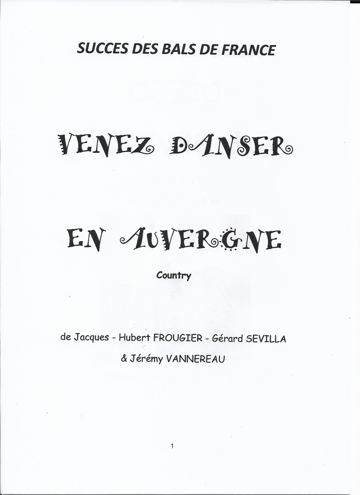 ACCORDEON: VENEZ DANSER EN AUVERGNE 2 Saint-Sylvestre-Pragoulin (63)