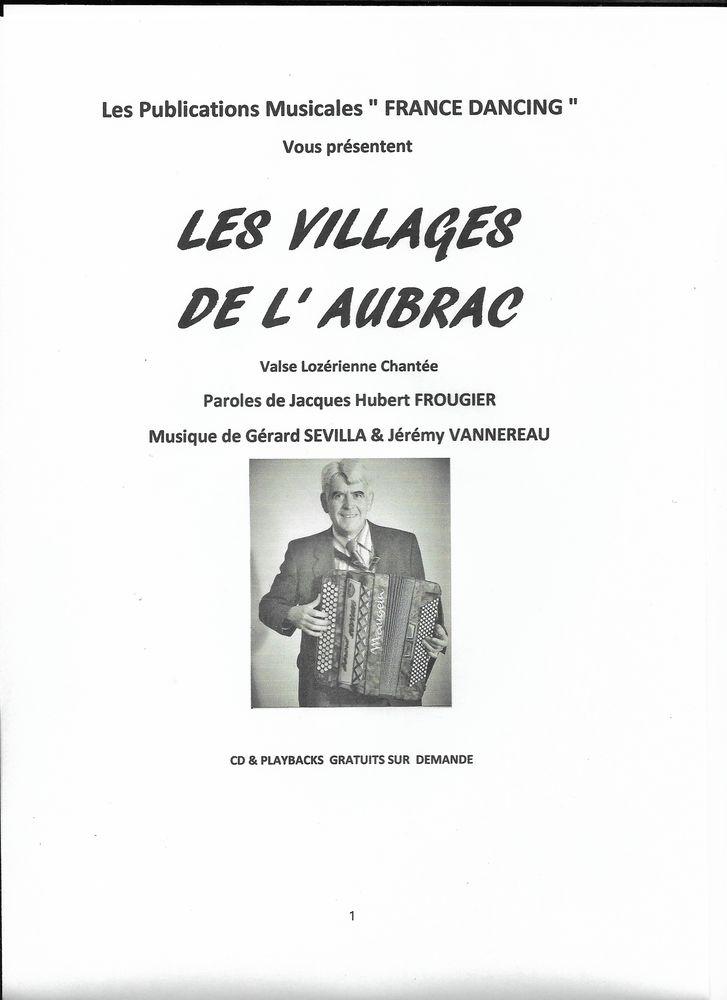 ACCORDEON: LES VILLAGES DE L' AUBRAC 2 Saint-Sylvestre-Pragoulin (63)