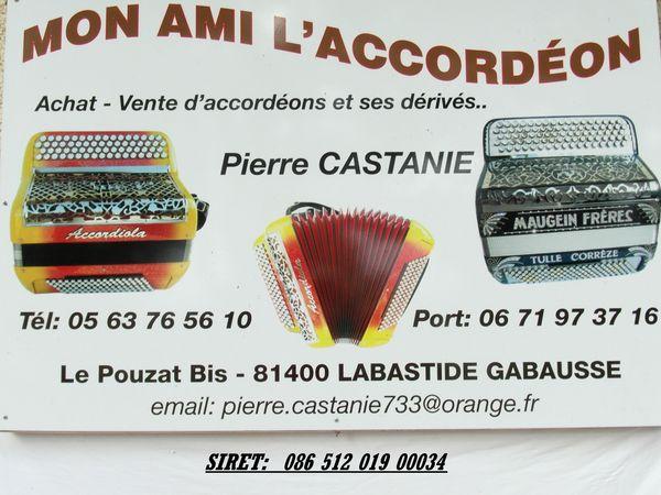 ACCORDEONS ACCORDIOLA MAUGEIN PIERMARIA 0 Labastide-Gabausse (81)