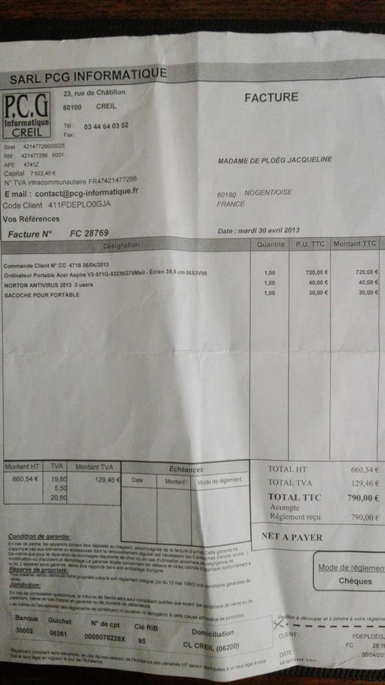 Acer Aspire V3-571G-53236G75Maii, 15.6  Full HD Core i5 50 Nogent-sur-Oise (60)