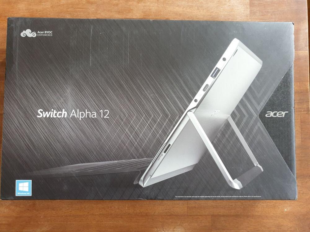 Acer switch Alpha 12 Matériel informatique