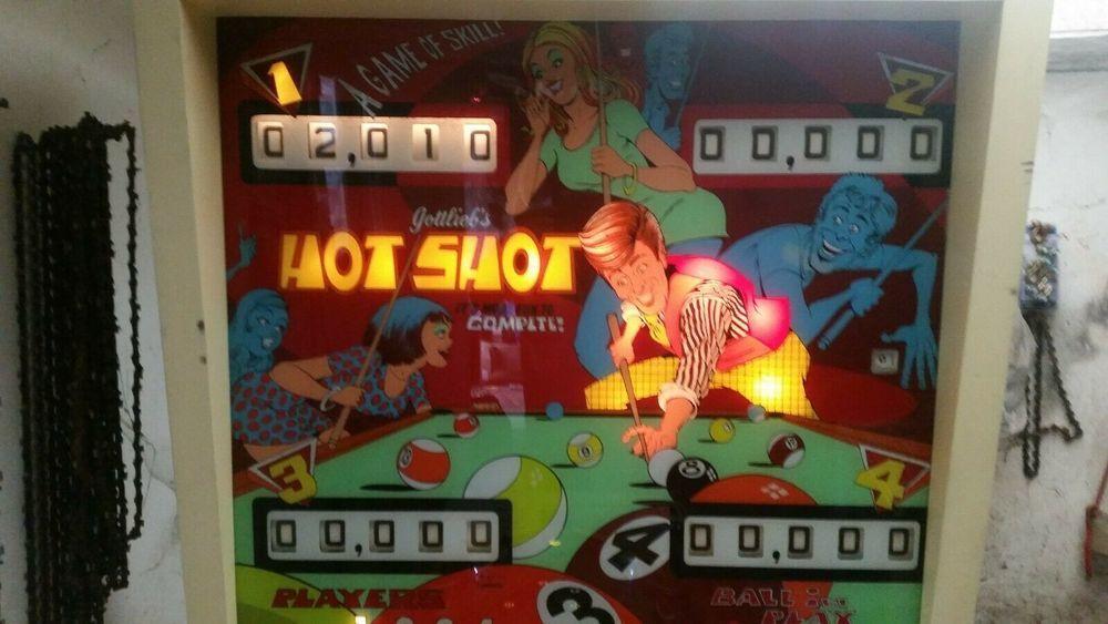 achete flipper hot shot  700 euro en panne ou pas. 700 Argenteuil (95)