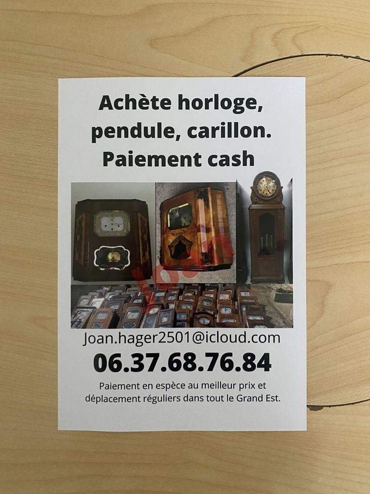 Achète horloge, carillon et pendule 100 Strasbourg (67)