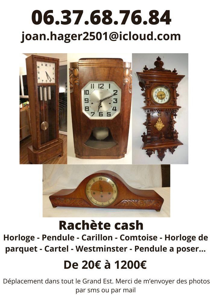 achète pendule horloge carillon.. 100 Haguenau (67)
