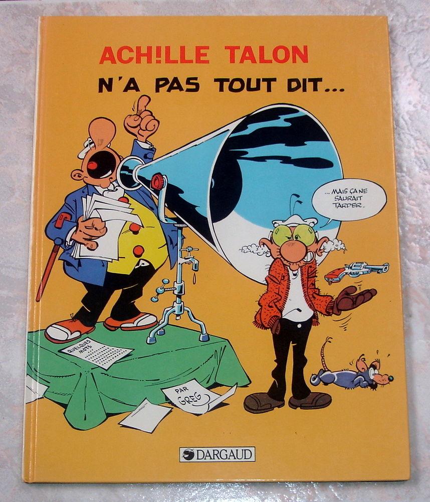 ACHILLE TALON N'A PAS TOUT DIT-BD-GREG-BOB PIRE-DARGAUD-1984 6 Tourcoing (59)