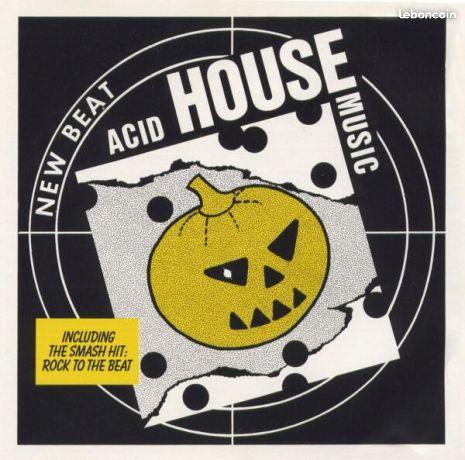 Acid House Music - New Beat CD et vinyles