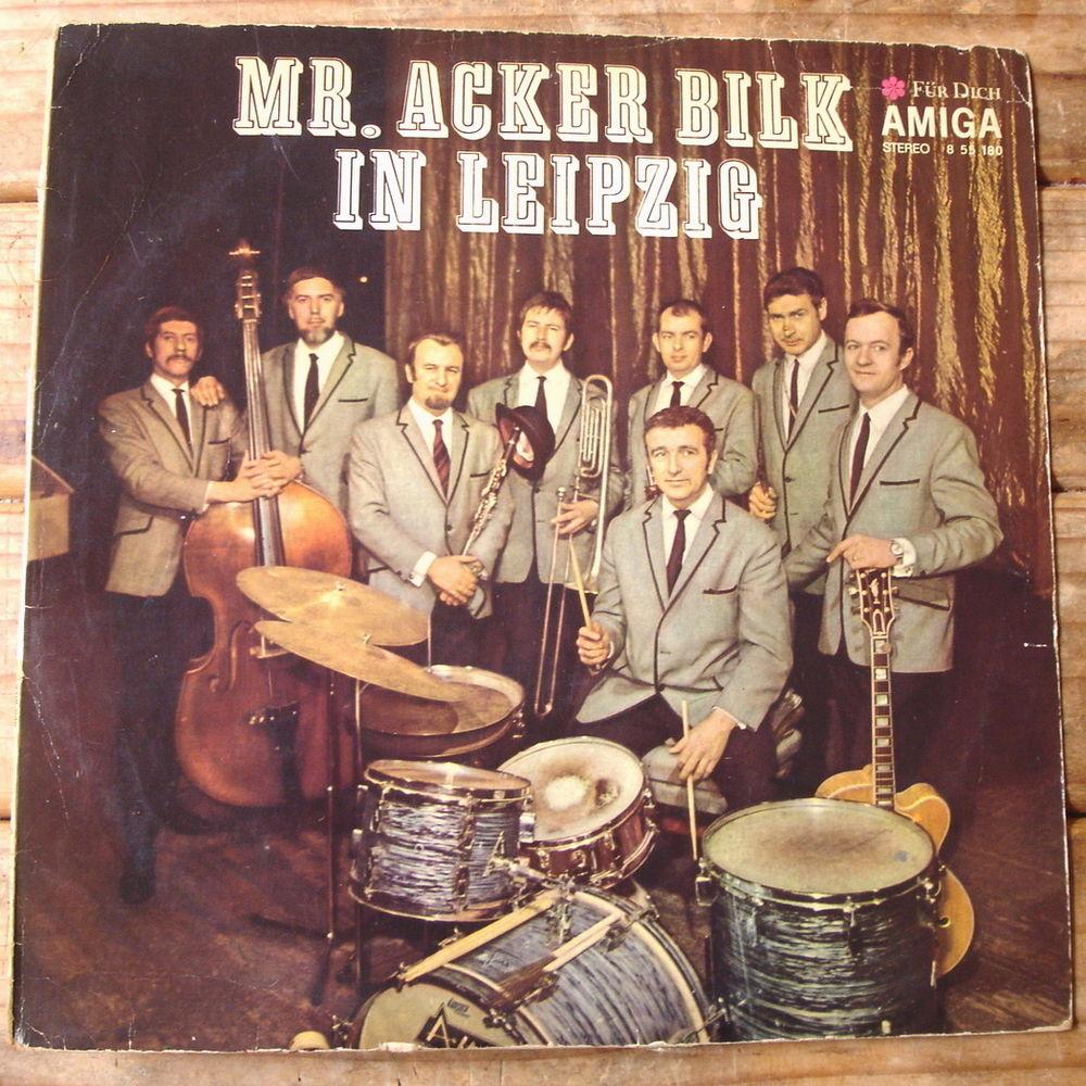 MR ACKER BILK IN LEIPZIG -33t RDA 1970- DINAH-PERSIAN MARKET CD et vinyles