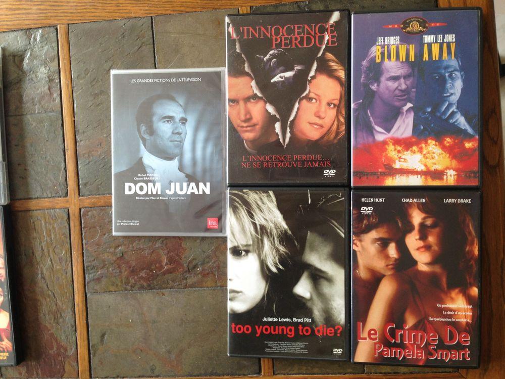 lot de 6 DVD d'action et de drame 18 Sarcelles (95)