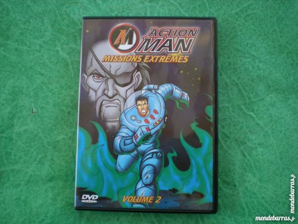 Dvd    Action man - missions extremes      vol  3 Saleilles (66)