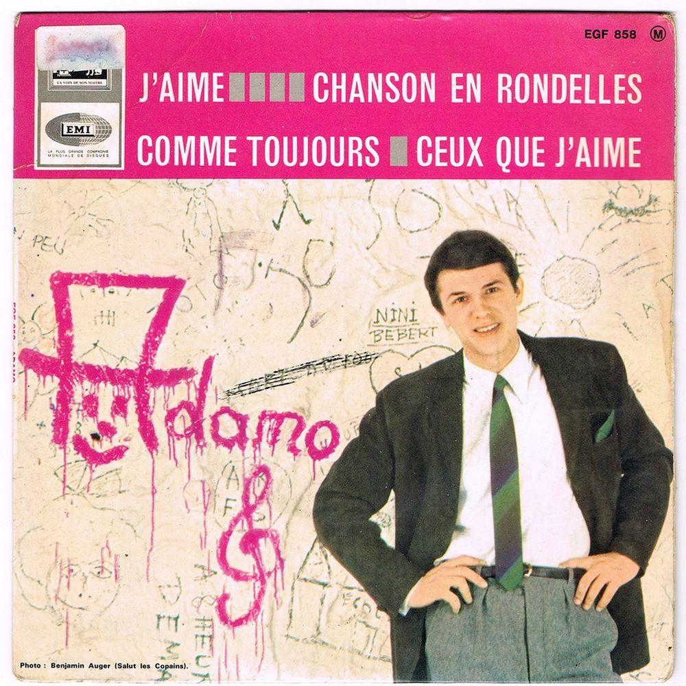ADAMO - 45t EP - J'AIME - COMME TOUJOURS?- BIEM 1965 2 Tourcoing (59)