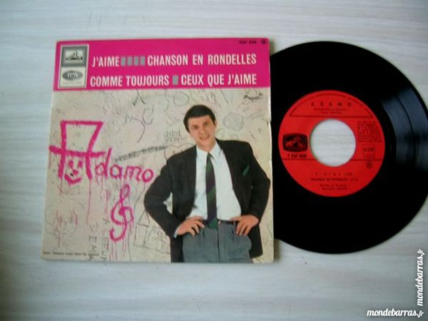 EP ADAMO J'aime 5 Nantes (44)
