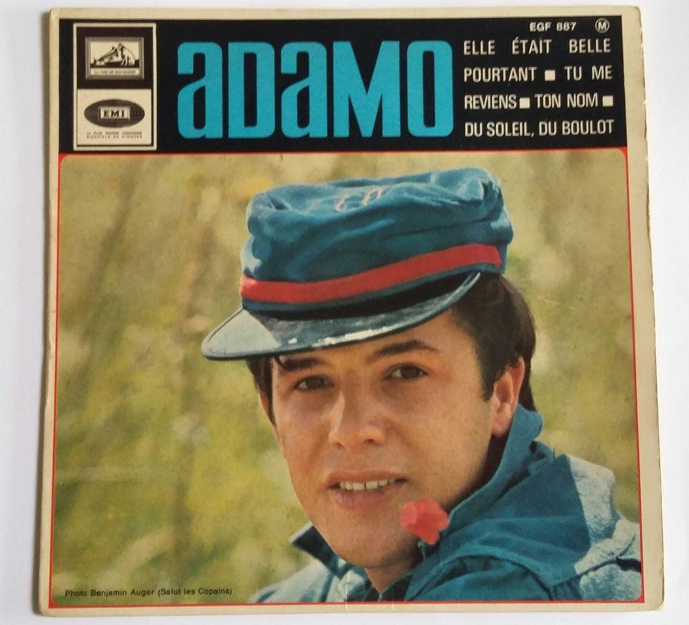 Adamo : Vinyle : 45 tours : 4 titres 5 Limoges (87)