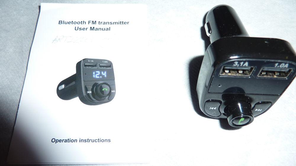 Adaptateur Bluetooth+Transmetteur FM 12 Ploemeur (56)