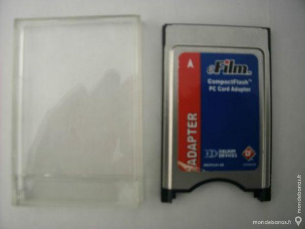 Adaptateur de carte Compact Flash  / PC Card 2 Joué-lès-Tours (37)