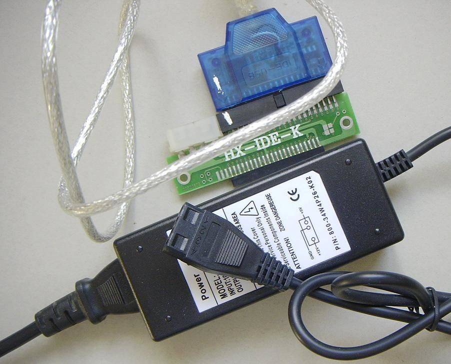Adaptateur convertisseur de IDE en Usb 15 Pontoise (95)