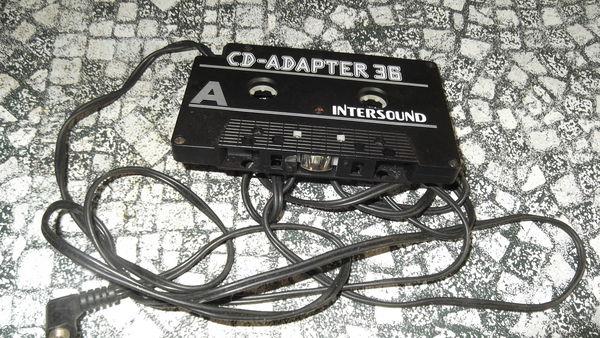 adaptateur pour lire lecteur cd sur auto radio cassette  2 Brest (29)