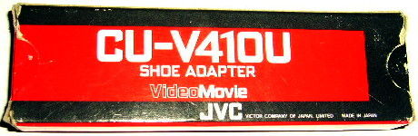 Adaptateur SHOE pour camescope JVC-CU-V 410U Photos/Video/TV