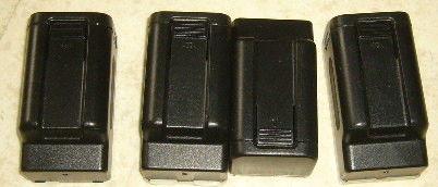 lot de 4 adapteurs BATTERY CASE N60 9V 24 Versailles (78)