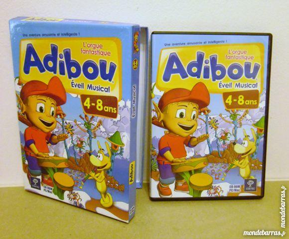 Jeu PC Adibou «éveil musical» pour 4-8 ans Consoles et jeux vidéos