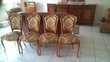 3 admirables tableaux, 4 magnifiques chaises style Décoration