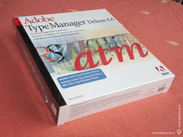 Adobe Type Manager Deluxe 4.6 - ATM 20 Romans-sur-Isère (26)